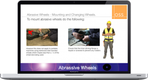 OSS Abbrasive Wheels Screenshot