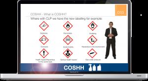 OSS COSHH Screenshot